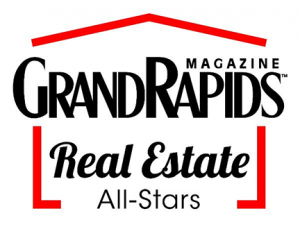 grand rapids magazine real estate all stars logo