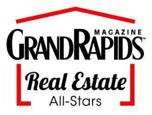 grand rapids magazine real estate all stars logo